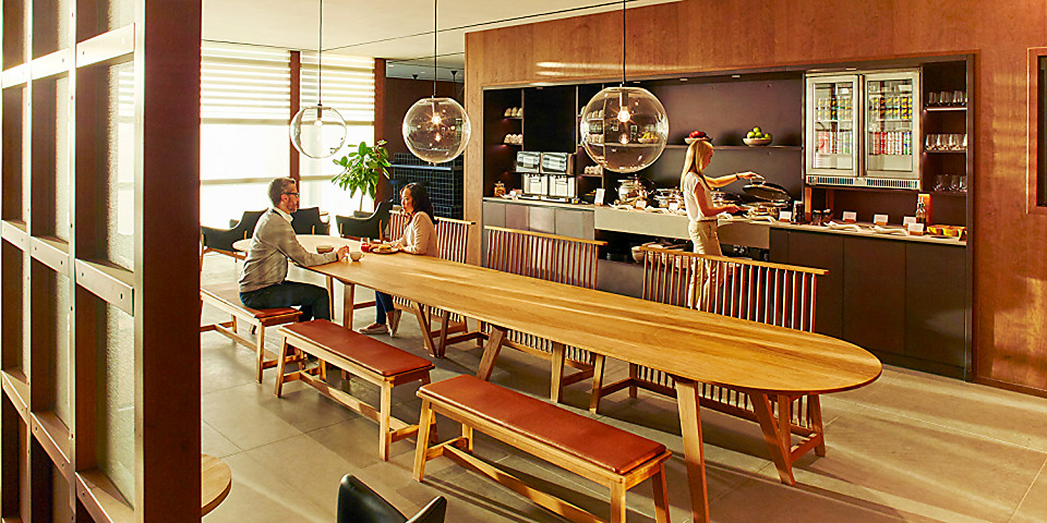 Cathay Pacific Business Class Lounge (LHR)