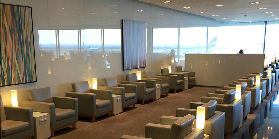 Cathay Pacific First and Business Class Lounge (CDG)