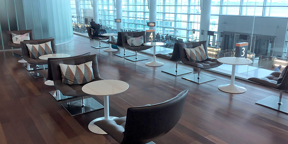 Converse Bank Business Lounge (EVN)