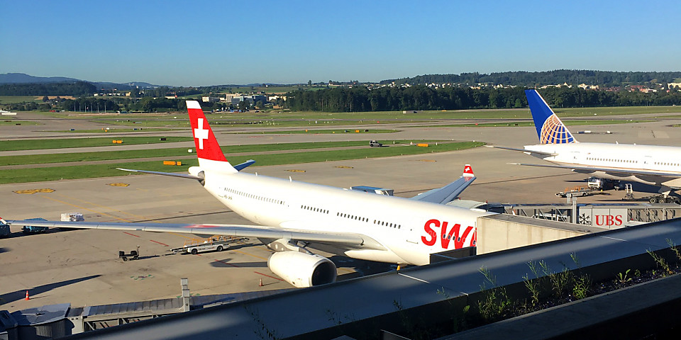 SWISS Business Lounge (ZRH)