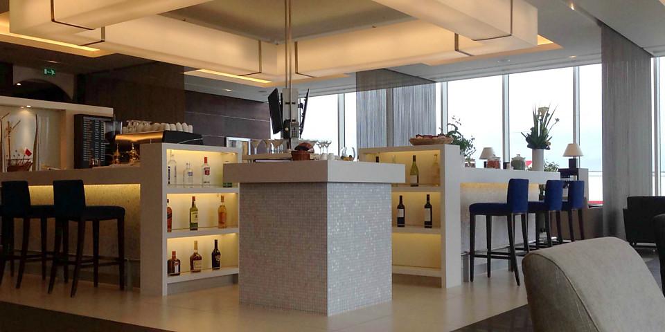 Gulf Air Falcon Gold Lounge (LHR)