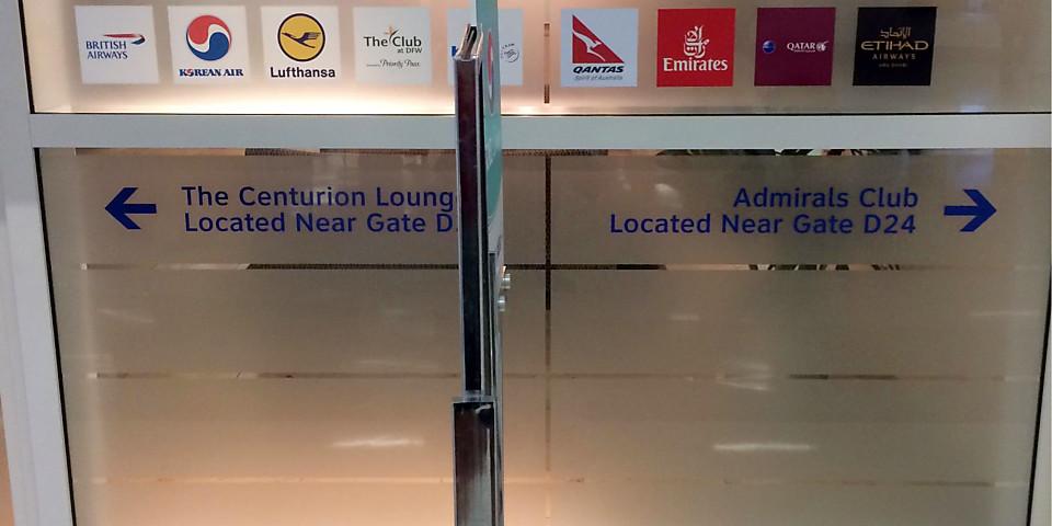 Lufthansa Lounge (DFW)