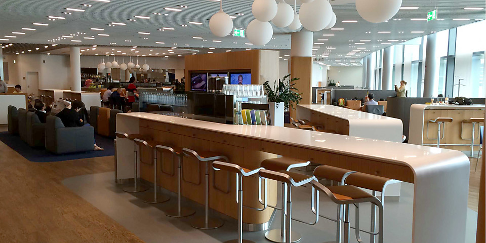 Lufthansa Business Lounge (Non-Schengen) (FRA)