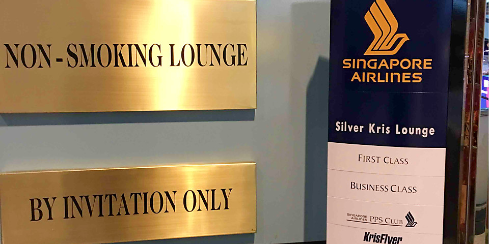 Singapore Airlines SilverKris Business Class Lounge (TPE)