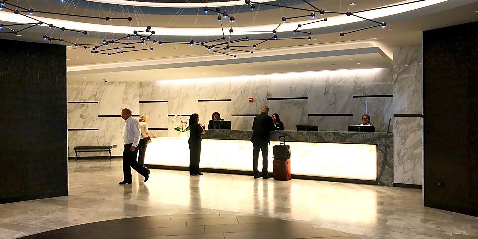 United Airlines Polaris Lounge (EWR)