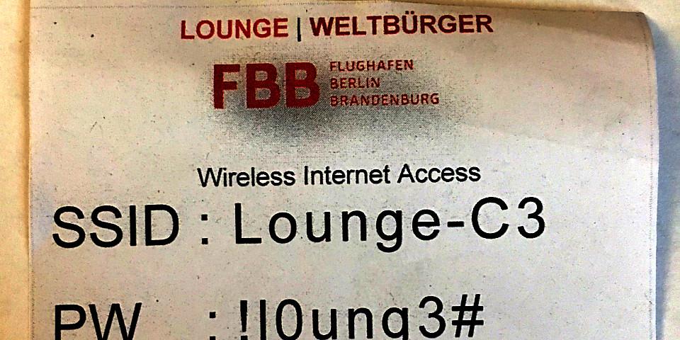 Weltbürger Lounge (TXL)