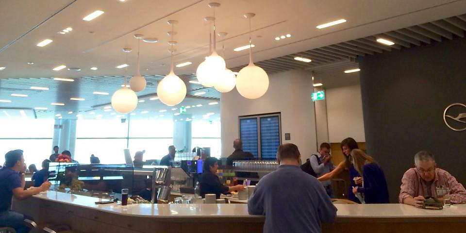 Lufthansa Business Lounge (Schengen, Gate A13) (FRA)