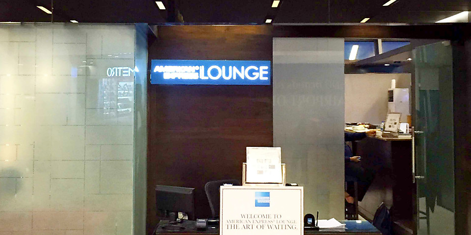 The American Express Lounge (DEL)
