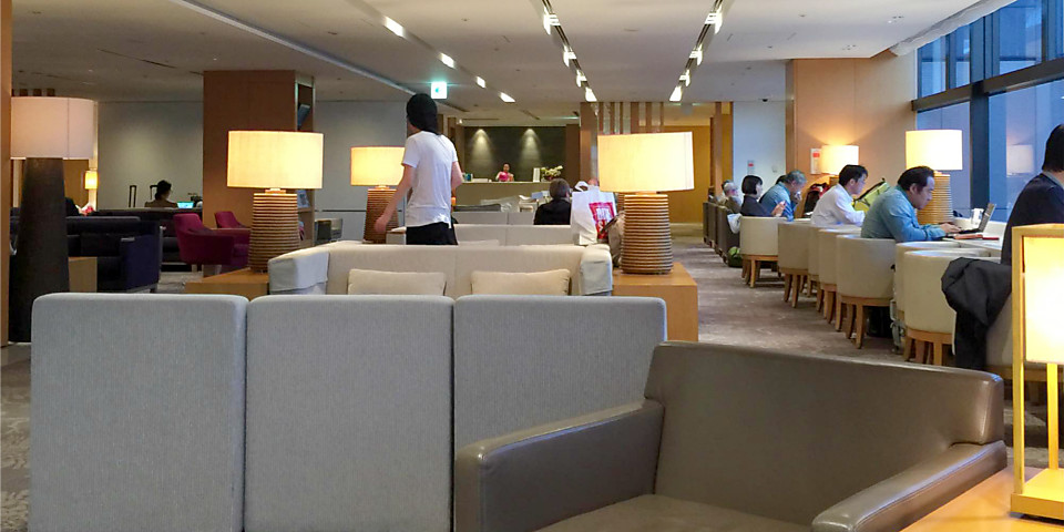 Japan Airlines Sakura Lounge (NRT)