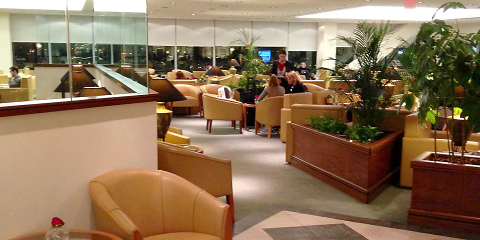 The Emirates Lounge (JFK)