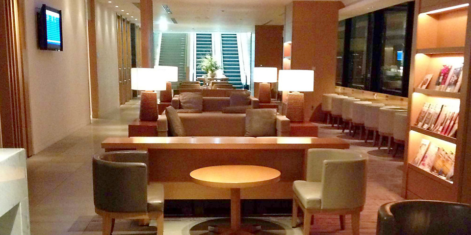 Japan Airlines Sakura Lounge (2nd Floor) (NRT)