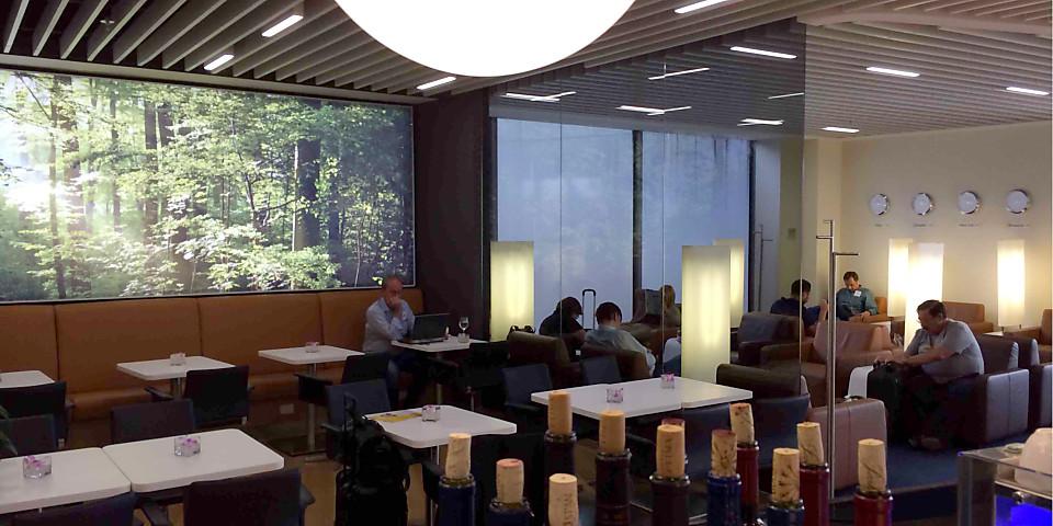 Lufthansa Senator Lounge (EWR)