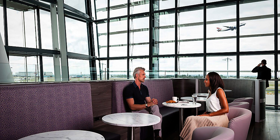 Aspire The Lounge at LHR T5 (LHR)