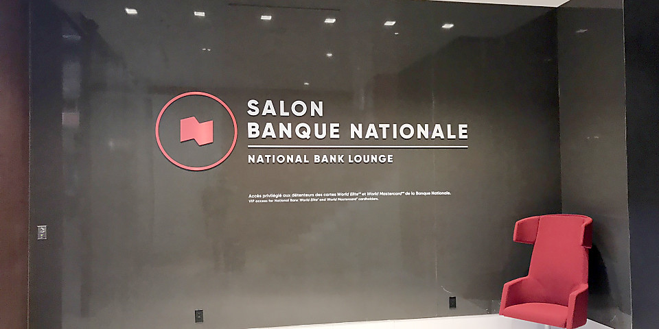 Montreal National Bank World Mastercard Lounge (YUL)