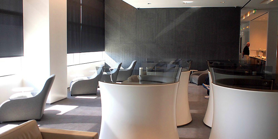 Cathay Pacific First and Business Class Lounge (SFO)
