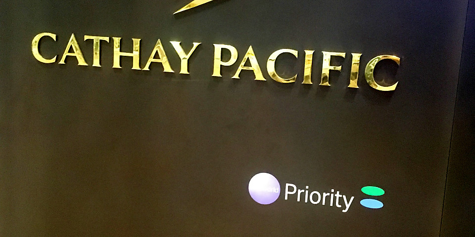 Cathay Pacific Lounge (SIN)