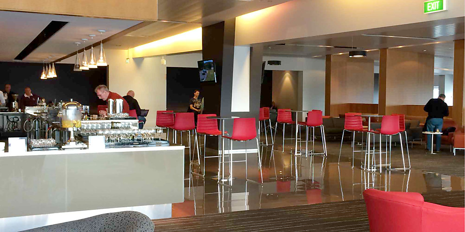 Qantas Club (International Business Lounge) (ADL)