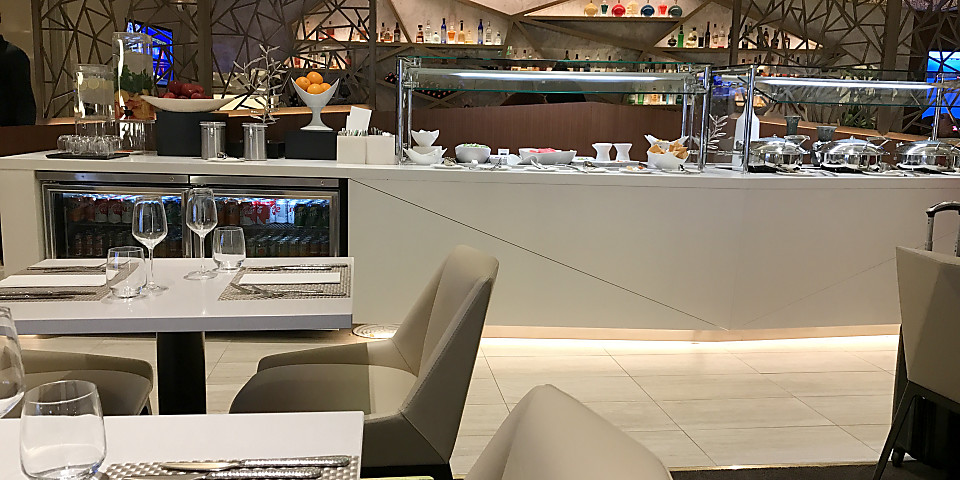 Etihad Airways First & Business Class Lounge (LAX)