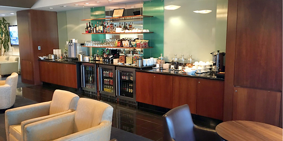 British Airways Executive Club Lounge (IAH)