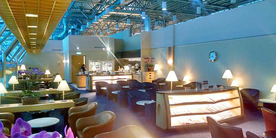 Singapore Airlines SilverKris Business Class Lounge (TPE)