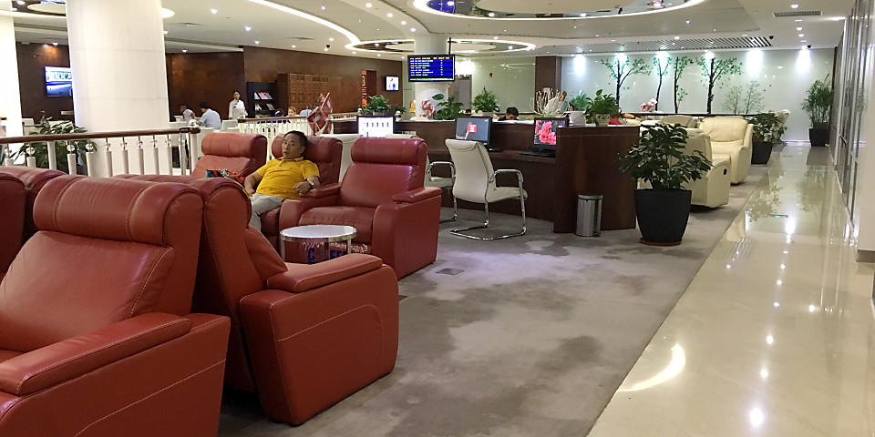 China Southern V2 First & Business Class Lounge (SZX)