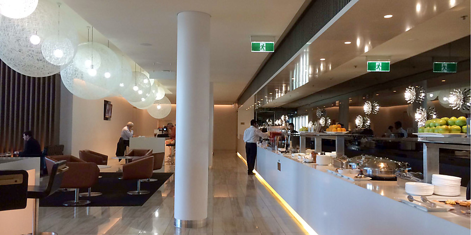 Qantas Airways Domestic Business Lounge (CBR)