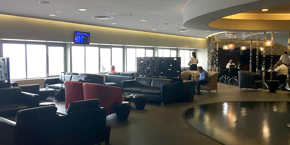SAA Cycad First Class Lounge (JNB)
