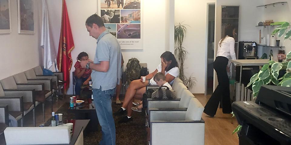 Fly Montenegro Lounge (TIV)