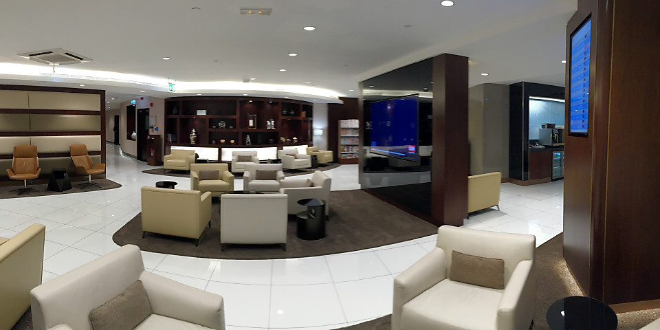 Etihad Airways First and Business Class Lounge (AUH)