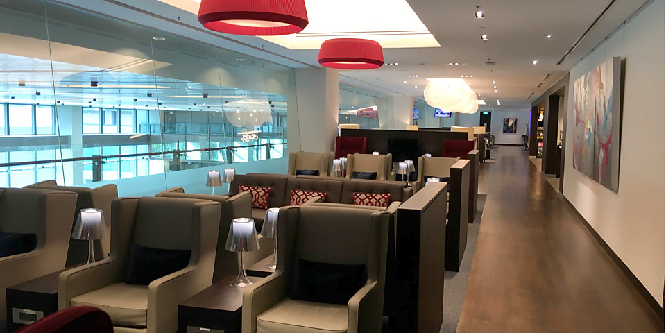 British Airways Singapore Lounge and Concorde Bar (SIN)