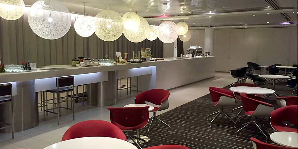Qantas Airways International Business Lounge (MEL)