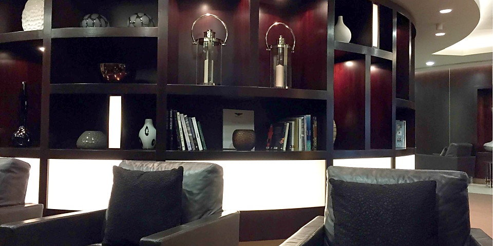 Etihad Airways First & Business Class Lounge (LHR)