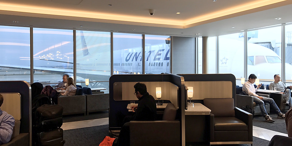 United Airlines Polaris Lounge (ORD)
