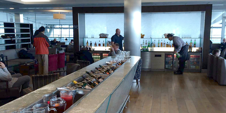 British Airways Galleries Club Lounge (LHR)
