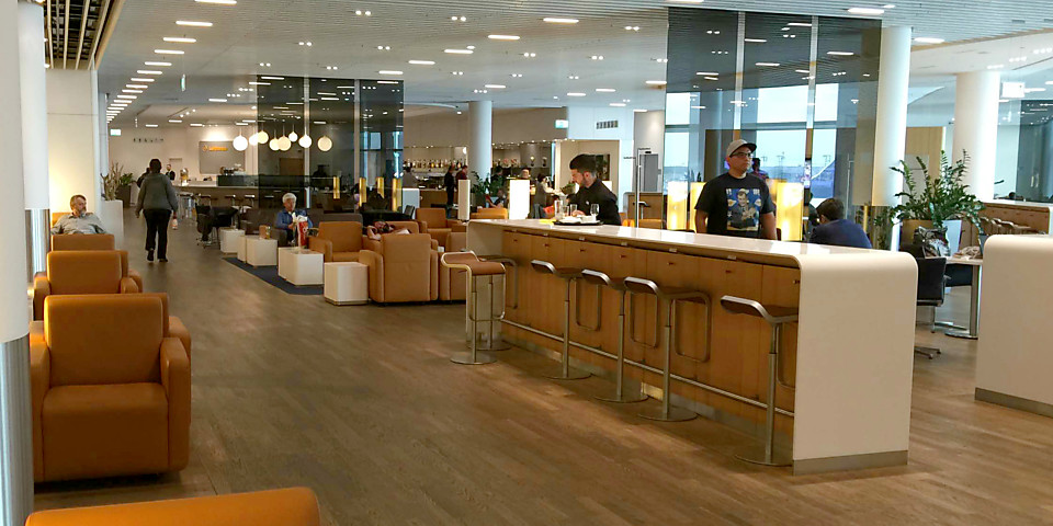 Lufthansa Senator Lounge (Non-Schengen) (FRA)