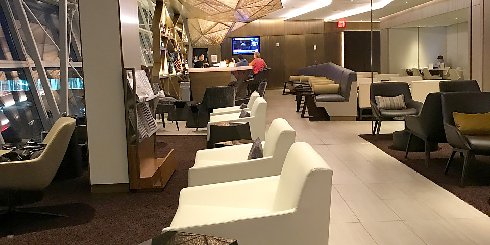 Etihad Airways First & Business Class Lounge (JFK)