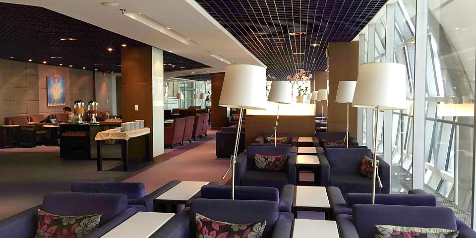Thai Airways Royal Silk Lounge (Gate C2) (BKK)