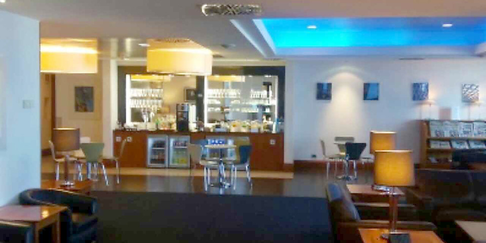British Airways Executive Club Lounge (FCO)