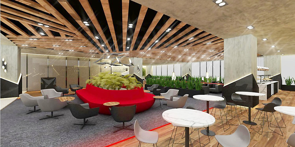 Turkish Airlines CIP Lounge (Business Lounge) (ADB)