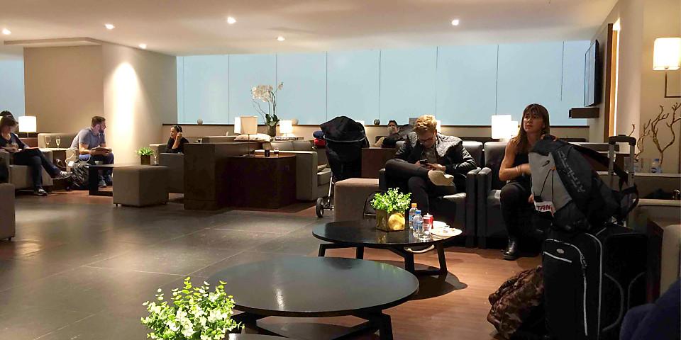 Sala VIP Mastercard Black Lounge (GRU)