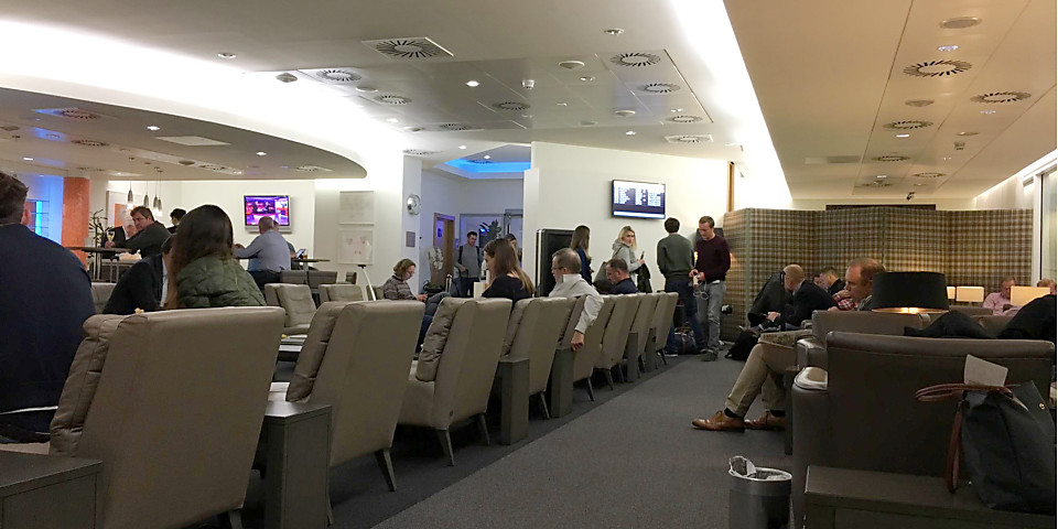 British Airways Terraces Lounge (Closed For Renovation) (ABZ)