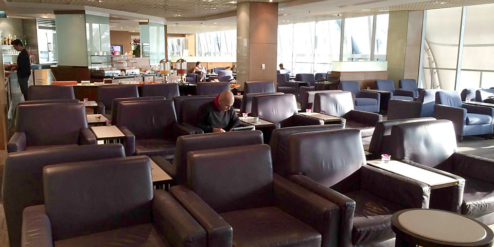 Thai Airways Royal Silk Lounge (BKK)