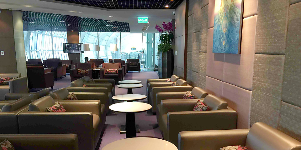 Thai Airways Royal Silk Lounge (Gate C1) (BKK)