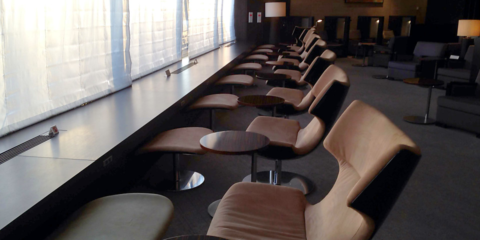 Japan Airlines JAL First Class Lounge (NRT)
