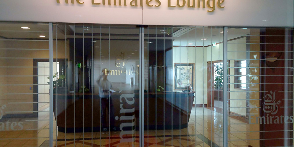 The Emirates Lounge (ZRH)