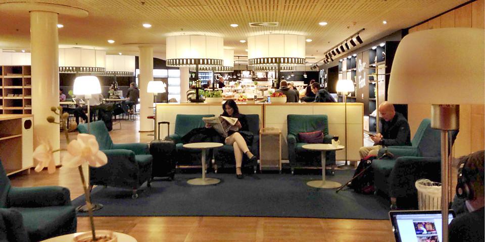 SAS Gold Lounge (CPH)