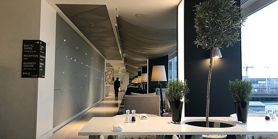 Qatar Airways Premium Lounge (LHR)