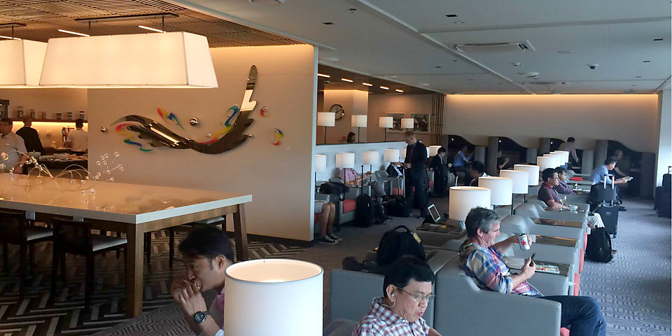 Singapore Airlines SilverKris Lounge (MNL)