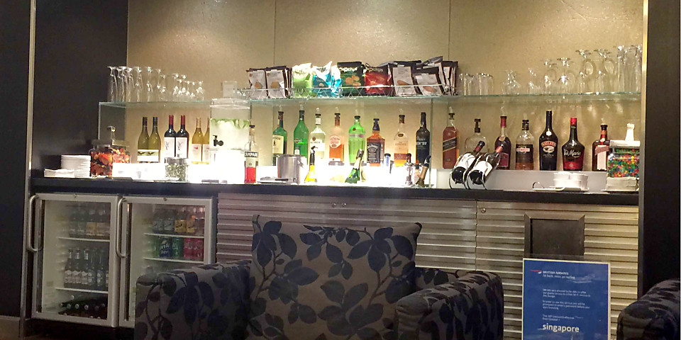 British Airways First Lounge (IAH)