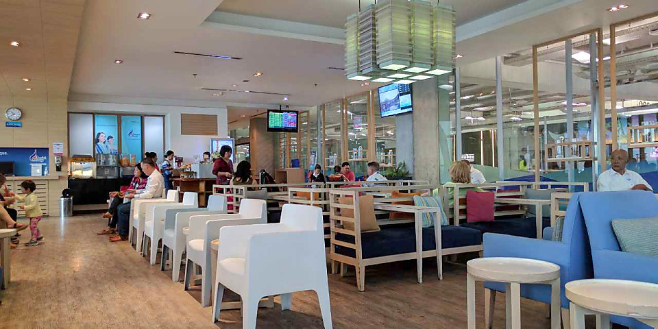Bangkok Airways Blue Ribbon Club Lounge (International) (BKK)